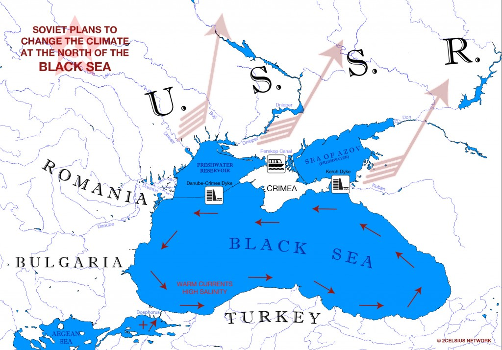 Black Sea and Soviet Climate
