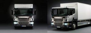 Scania P N3 - vizibilitate directă excelentă